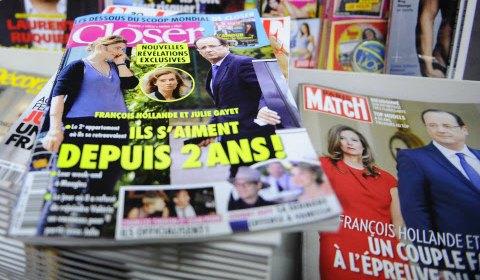 François Hollande et l'amour