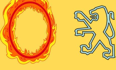 peugeot lion feu