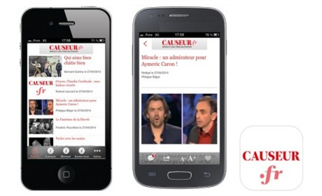 L'application mobile de Causeur enfin disponible