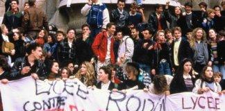 etudiants manifestation devaquet