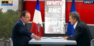 francois hollande bourdin