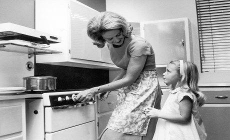 Plus stress es la maison qu au boulot causeur for Femme au foyer annees 50