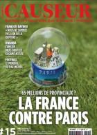 Couverture Causeur 15 - juillet-aout 2014