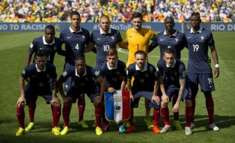 Mondial de football l 39 quipe de france a fait oublier - Coupe du monde 2010 equipe de france ...