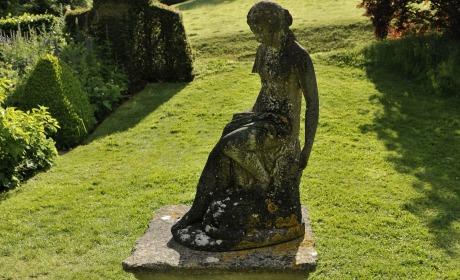 jardin statuaire femme