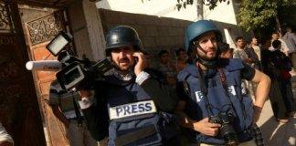 journalisme gaza israel