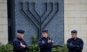 synagogue policier protection