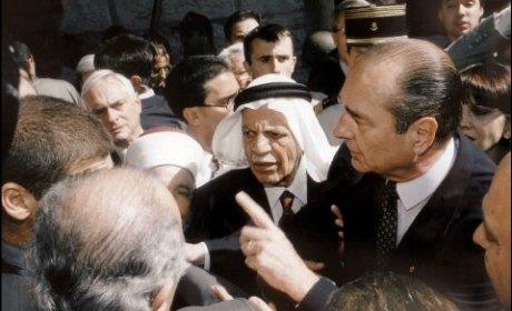 chirac politique arabe