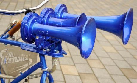 decibel bruit klaxon