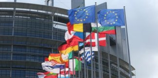 euro zone drapeau