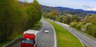 autoroute campagne rural