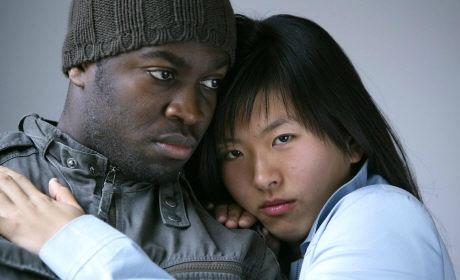 Interracial noir et asiatique