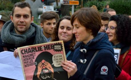 Charlie Hebdo caricature Mahomet laïcité