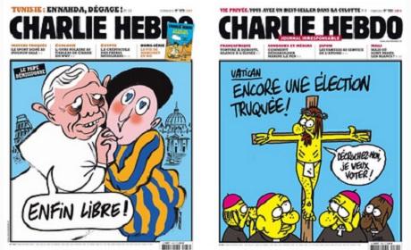 Charlie Hebdo catholiques