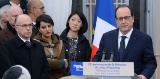 Hollande Auschwitz antisémitisme