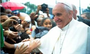pape francois charlie hebdo blaspheme