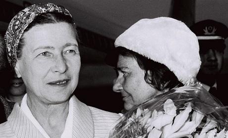 Simone de Beauvoir femmes Charlie Hebdo
