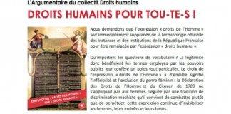 collectif droits humain feminisme