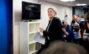 Marine Le Pen FN départementales 2015
