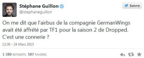 tweet Guillon A320