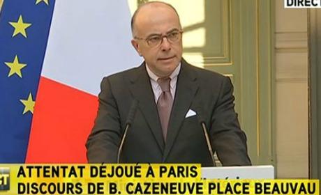 Bernard Cazeneuve attentat terroriste églises Villejuif