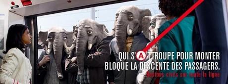 RATP éléphants Chrétiens d'Orient Les Prêtres