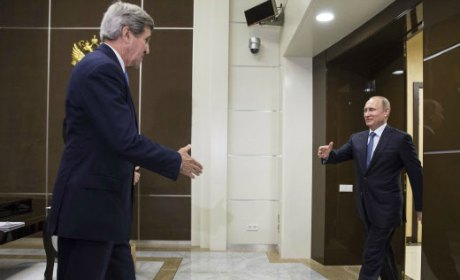 kerry poutine russie