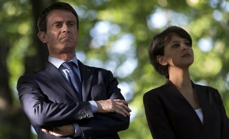 Manuel Valls Najat Vallaud-Belkacem réforme du collège