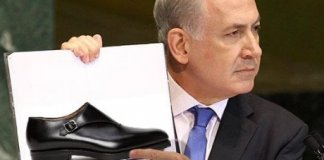chaussure volée Mossad