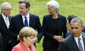 Grèce euro Merkel Obama