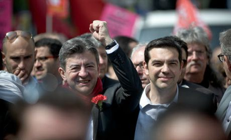 Grèce Tsipras Mélenchon