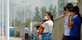 chine tianjin techernobyl