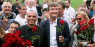 montebourg varoufakis allemagne fete rose