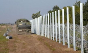 Autriche Hongrie migrants mur