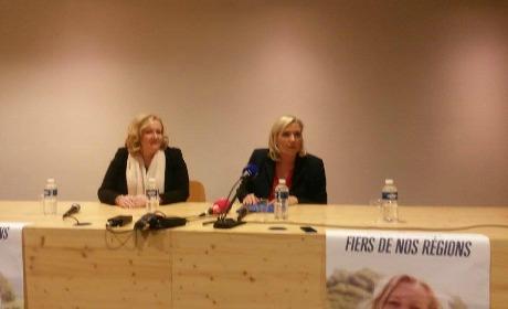 Marine Le Pen Besançon