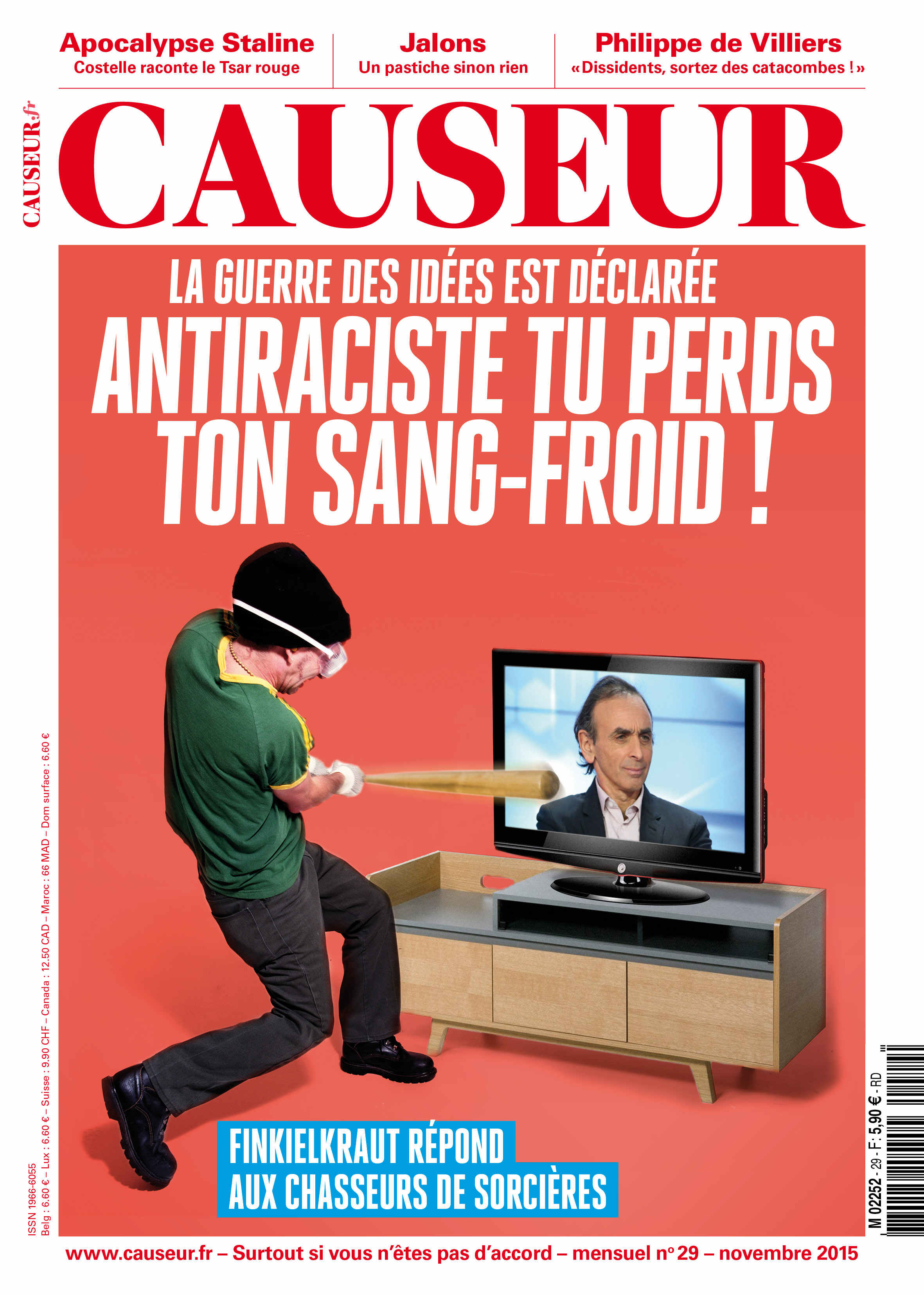 Antiraciste tu perds ton sang-froid !