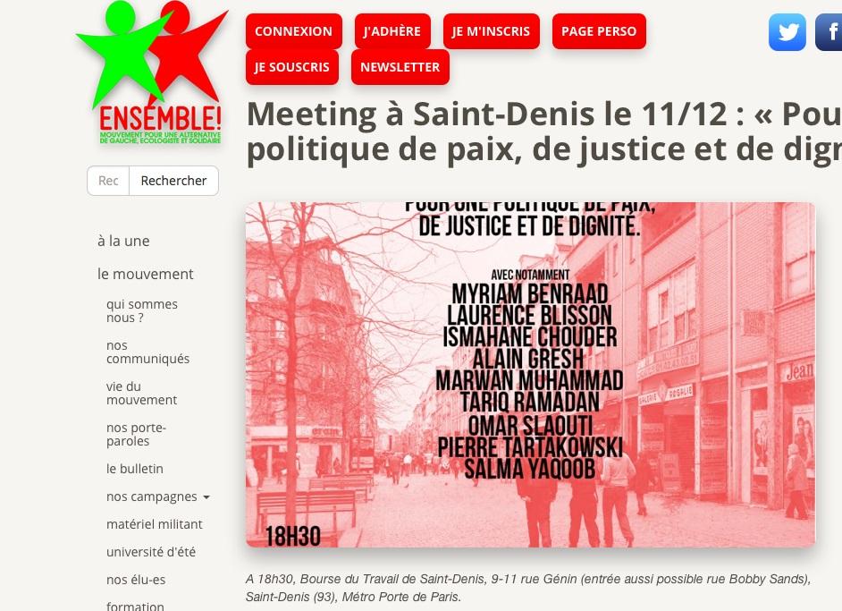 Ensemble Saint-Denis Clémentine Autain