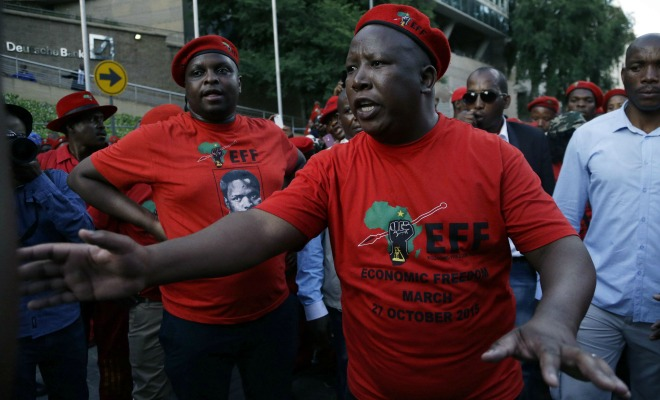 Afrique du Sud ANC Julius Malema