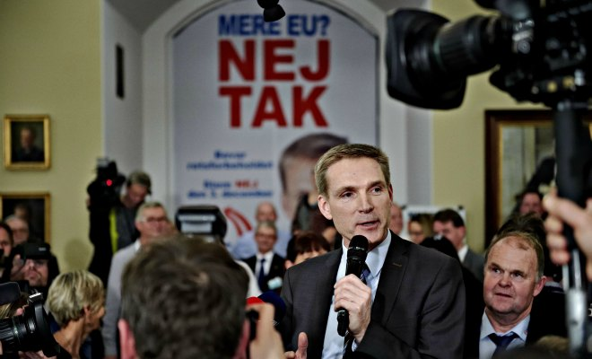 Danemark: «Nej» à plus d'Europe!