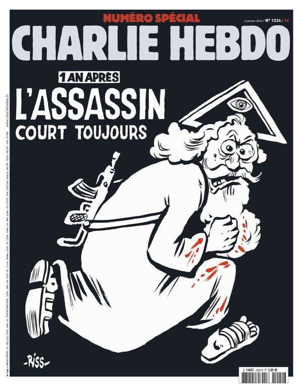 Charlie Hebdo janvier 2016