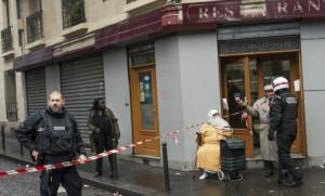 Le quartier de Barbès à Paris bouclé lors de l'attaque de son commissariat en janvier dernier (Photo : SIPA.00736864_000015)