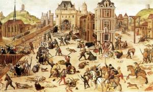 Le massacre de la Saint-Barthélemy par François Dubois (Wikimedia commons - cc)