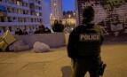 Intervention policière dans la cité La Busserine (Photo : SIPA.00742227_000128)