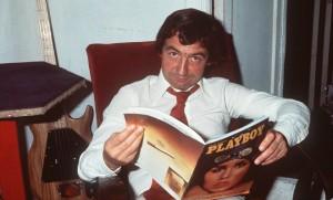 Pierre Desproges, en 1983, dans «La Minute nécessaire de monsieur Cyclopède» (Photo : SIPA.00105074_000002)