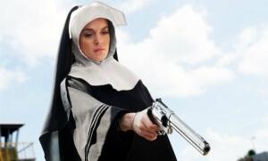 Lindsay Lohan dans Machete (Photo : SIPA.51432548_000018)