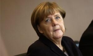 Angela Merkel, début mars à Berlin (Photo : SIPA.AP21865437_000005)