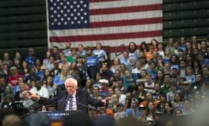 Bernie Sanders, en février dernier, dans le Colorado (Photo : SIPAUSA30143338_000015)