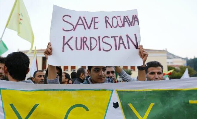 rojava kurdistan syrie