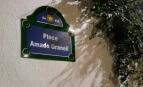 Plaque en hommage à Amado Granell à l'Institut français de Valence (Photo : Coentor - Wikimedia commons - cc)