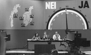 Le 25 septembre 1972, les Norvégiens rejettent par voie de référendum, l'adhésion de leur pays à l'Union européenne (Photo : AFP)